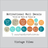Motivational Wall Decals - Beautiful Girl - Little bit sweary