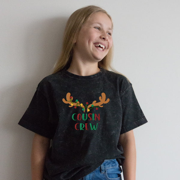 Kid's Tees - Christmas Cousin Crew