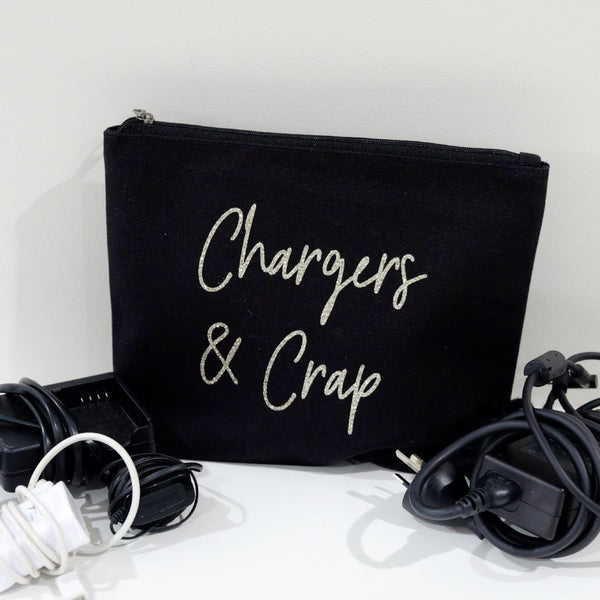 Travel bag - Chargers and cords