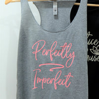 Racerback Tank Top - Perfectly Imperfect