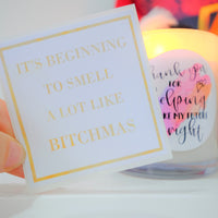 Stickers - DIY for candles