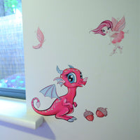 Wall Decals - Fairy collection