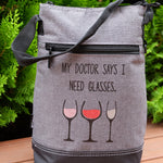 Wine Cooler - My Doctor says I need glasses