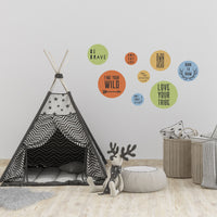 Motivational Wall Decals - Find your Wild