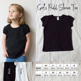 Girl's Puff Sleeve Tee - Custom