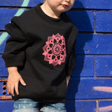Kids Crew Neck Jumper - Mandala