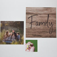 Fabric Photo Wall Decals - Set of 3 Square with BONUS