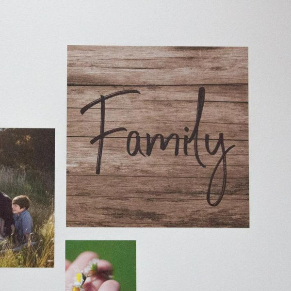 Fabric Photo Wall Decals - 50cm Square