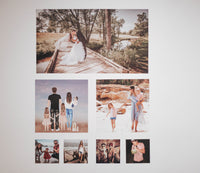Fabric Photo Wall Decals - Medium Photo package