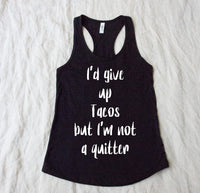 Tank Top or T shirt - I'd give up .... but I'm not a quitter