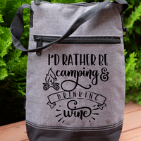 Wine Cooler - I'd rather by camping