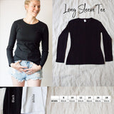 Long sleeve ladies Tee - Custom