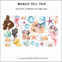 Wall Decals - Mermaid collection