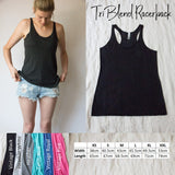 Racerback Tank Top - Hang out with your soul