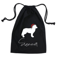 Personalised Pet Dog Cat Christmas Santa Sack
