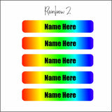 Name Label Waterproof Stickers - qty 108 - Small 46mmx8mm