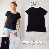Slub cotton Tee - Custom