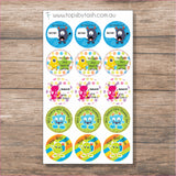 Personalised Teacher Stickers - Reward Stickers for the kiddlets