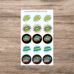 Teacher Stickers - Super Hero Reward Stickers for the kiddlets