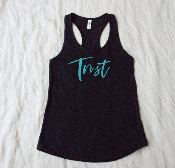Ideal Racerback tank top - Trust