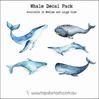 Wall Decals - Whales