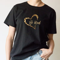 Unisex Classic Tee - Be Kind Love Heart