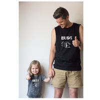Father and Son/ Father and Daughter matching tops