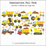 Wall Decals - Construction