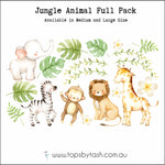 Wall Decals - Jungle Animals