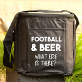 6 Drink Cooler Bag - Football and Beer