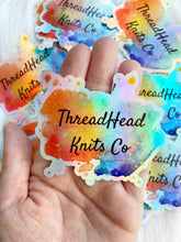 Holographic ThreadHead Knits Stickers