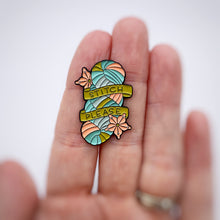 "ThreadHead Knits ""Stitch Please"" Enamel Pins"