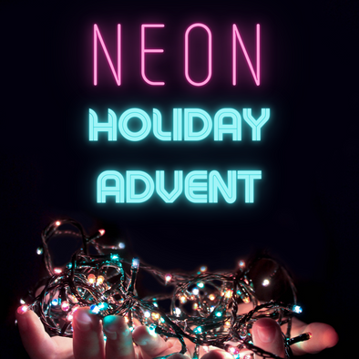 Neon Holiday Advent