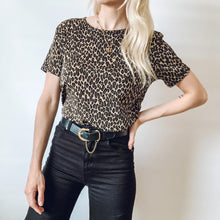 Leopard Print Stretchy Top