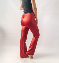 Shiny Flare Pants
