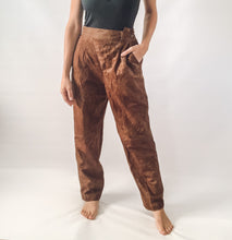 Cracked Print Trousers