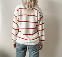 Striped Sweater Henley