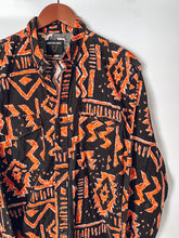 Aztec Print Western Button Up