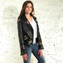 Embroidered Jacket w/ Stud Detailing