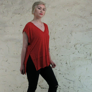Free People, Over-sized Tee