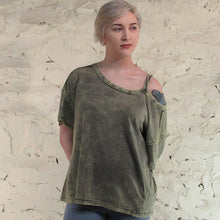 Free People; Alex Army Tee