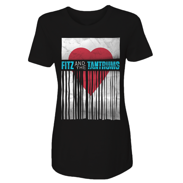 Fitz and the Tantrums Valentine's Day Inspired Ladies Tee