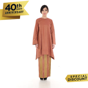 Nabila Kurung Brown