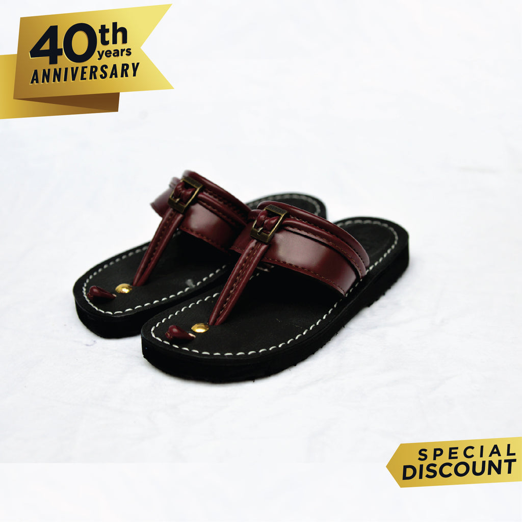 Capal Warisan BMO Kids Dark Brown