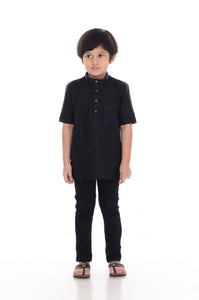 Kurta Premium Kids Black