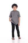 Kurta Premium Kids Dark Grey