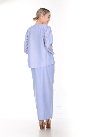 SET LAURA KURUNG KEDAH(LIGHT PURPLE)