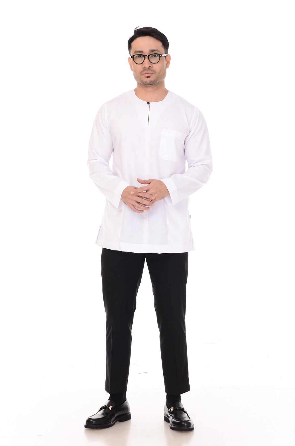 Kurta Omarthobe White (without collar)