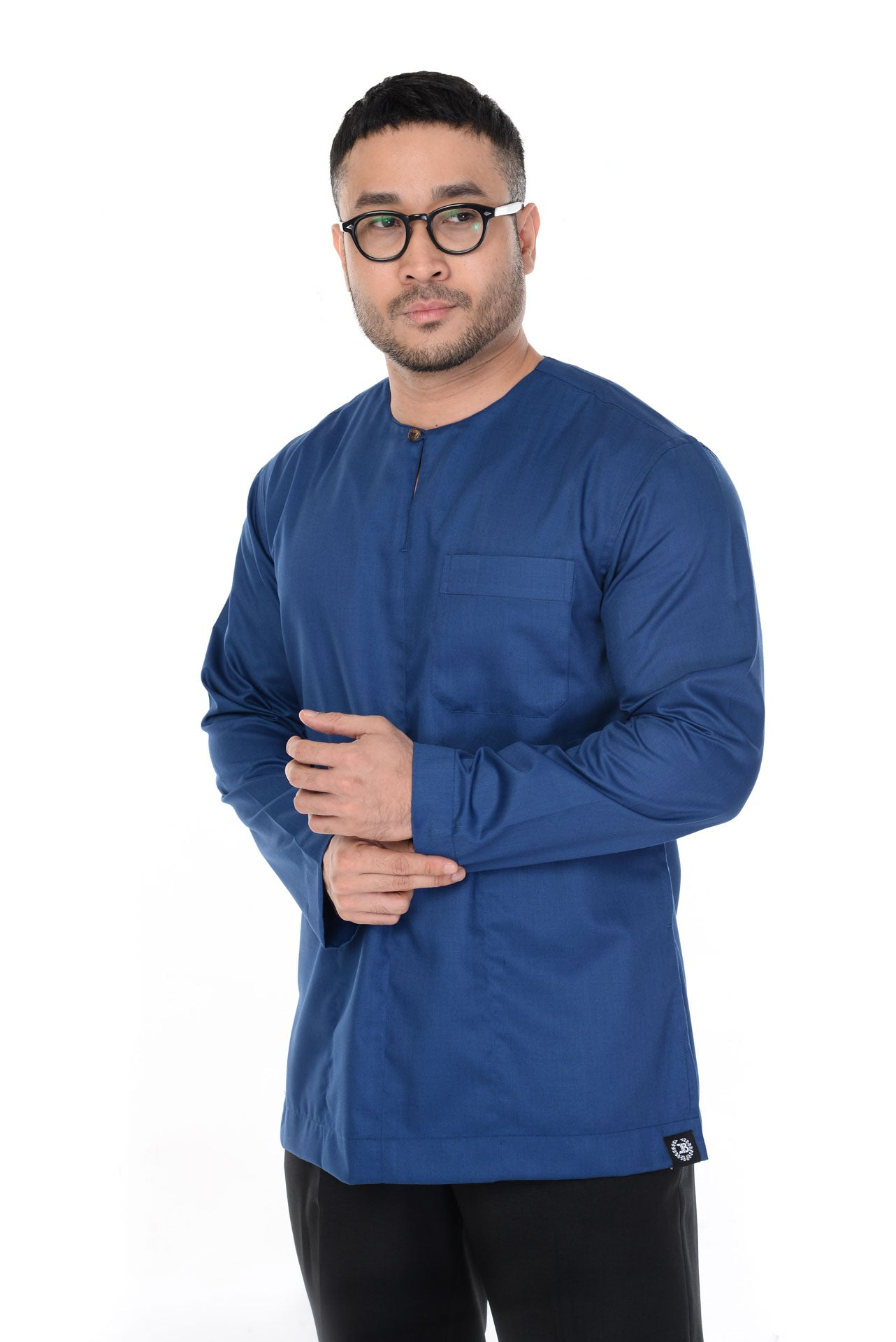 KURTA BASIC ADAM DENIM BLUE