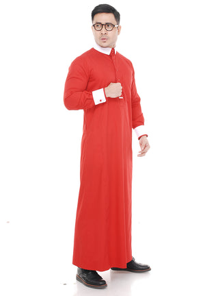 Jubah Hussain Red